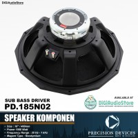 harga Speaker Komponen Component Precision Devices Pd.185n02 Sub Bass Driver Tokopedia.com