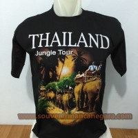 SOUVENIR THAILAND KAOS WISATA JUNGLE TOUR
