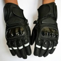 sarung tangan kulit hitam terlaris di Jakarta