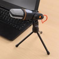 Condenser Singing Karaoke Microphone Mic 3.5mm PC Laptop SMULE SF666