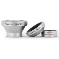 Jual Lensa Handphone - Fisheye Magnetic Wide Angle Lens 180 Degree Murah