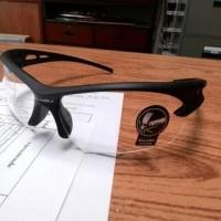 kacamata motor bening ( sepeda, gowes, safety, hiking, fashion )