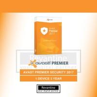 Antivirus Avast Premier 2017 1 Pc 3 Tahun