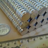 N52 Uk 15x3 mm Magnet Super Strong / Kuat Neodymium 15x3 mm Bulat Coin