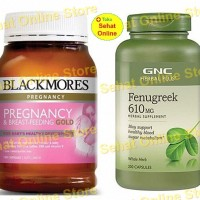 PaHe Asi Booster PREMIUM Blackmores Pregnancy Gold / GNC Fenugreek