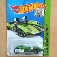 HOT WHEELS TWIN MILL SUPER TREASURE HUNT FACTORY SEALED 2014 #221 - R1