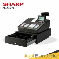 CASH REGISTER SHARP XE-A207B - MESIN KASIR SHARP 207 HITAM