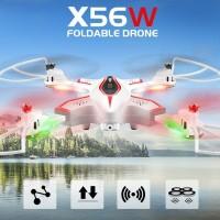 SYMA X56W Drone 2017 Wifi FPV Portable Murah Mainan Baru (Putih)