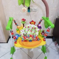 Jual [@kidschoicerent] Sewa Mainan Bouncer Bright Starts Jumperoo ELC. Murah