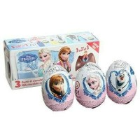 Frozen Zaini Surprise Egg Coklat