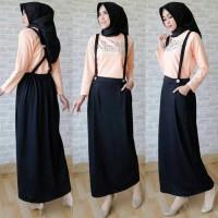 06861 Kirania Peach / Baju muslim / Hijab / Maxi / Dress