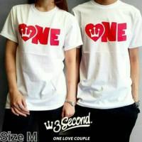 Jual One Love Cpl T-shirt GRLT Ariel / Kaos Greenlight 3 Sco Three Second Murah