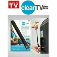 Jual ANTENA TV DIGITAL INDOOR, HDTV, DVB-T2 CLEAR TV KEY ANTENNA Murah