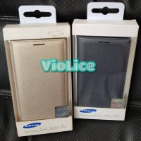 Flop Cover Samsung Galaxy A3 2015 A300 Original Ready Gold & Ch. Gray