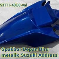harga Spakbor/slebor Depan Suzuki Address Biru Metalik Tokopedia.com