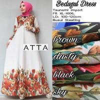 baju muslim gamis jumbo good quality, long dress modern elegant