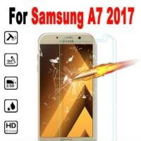 TEMPERED GLAS SAMSUNG GALAXY A7 2017 ANTIGORES GLAS
