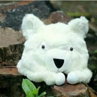 Animal Hat Kucing Anggora lucu topi boneka murah