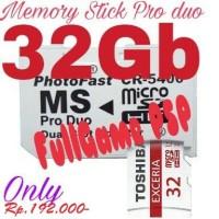 Memory Stick Pro duo 32gb Bonuss FullGame PSP