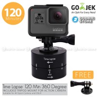 Time Lapse 120 Min 360 Degree With Mount for Xiaomi Yi,Brica B-PRO