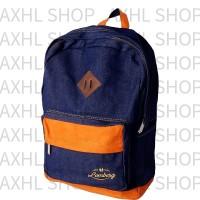 harga Lomberg Navy Lash Backpack - Waterproof Dry Denim Suede [ready Stock] Tokopedia.com