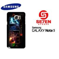 Casing Samsung Galaxy Note 5 dota 2 wallpaper 4 Custom Hardcase