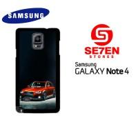 Casing Samsung Galaxy Note 4 Slammed Audi A4 Allroad Custom Hardcas