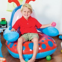 BESTWAY CHAIR LADY BUG , SOFA ANGIN ANAK LADY BUG