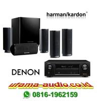Jual Harman Kardon Paket Home Theater HKTS 16 & DENON AVR-X1300 ATMOS Murah