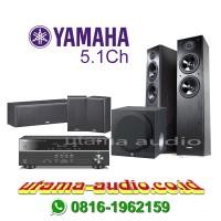 Yamaha Paket Home Theater NS-F51, NS-P51, YST-SW216, HTR-2067
