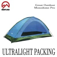 harga Promo!! Tenda 2 Orang Camping Monodome Pro Great Outdoor Waterproof Tokopedia.com