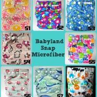 Jual Insert 2-Clodi Babyland Microfiber Snap/Popok Kain Cuci Ulang/ Pampers Murah