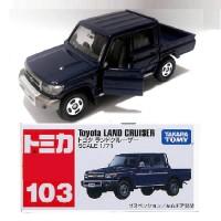 Toyota LAND Cruiser no 103 black Tomica Takara tomy