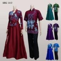 Harga Baju Gamis Batik Couple   Jual baju gamis batik couple murah 31bb8b277c