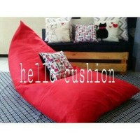 Jual Cover Bean Bag Lounge Chair Large Suede Murah