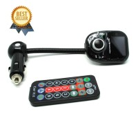 Bluetooth FM Transmitter Car Kit MP3 Player - A2DP - Black