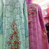 Best Quality Gamis Brukat Nagita Collection Rp. 350.000
