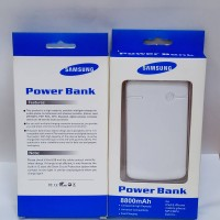 Power Bank Portable Samsung white