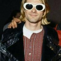 Jual Kacamata Oval / Kurt Cobain Sunglasses / Kacamata Grunge READY STOCK Murah