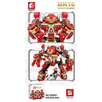 Lego Super Hero Avengers Iron Man MK16 Sembo 60001