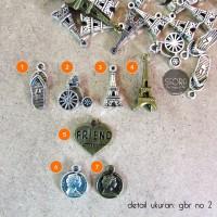 Jual Charm / Bandul / Liontin (Diy Kalung - Gelang - Tattoo - Choker) Murah
