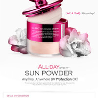Jual Skin79 Powder - All Day Sun Loose powder SPF 30++ Diamond. Murah