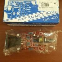 harga Kit Preamp Balance Input Dms-405 Tokopedia.com