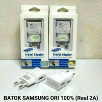 Batok Adapter Charger Samsung Real 2A Original 100% Asli