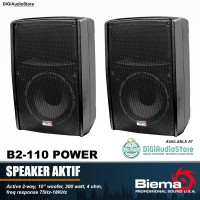 Speaker Aktif BIEMA B2-110 POWER 10 Inch 300 Watt Monitor Sound System