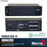 BIEMA FEQ3102II / FEQ 3102 II 31 Band Audio Equalizer Sound System