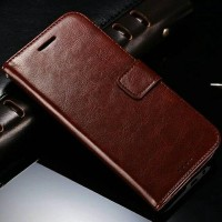 HTC One M8 case casing hp kulit retro dompet leather FLIP COVER WALLET