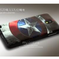 Samsung galaxy note 3 soft case back cover casing hp SILIKON SUPERHERO