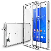 Sony xperia z3 compact case transparant cover casing hp RINGKE FUSION