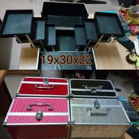 harga Kosmetik Box Case Koper Bag Kotak Bok Makeup Case Tokopedia.com